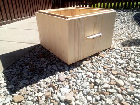 Kopia - National beehive - brood box 14